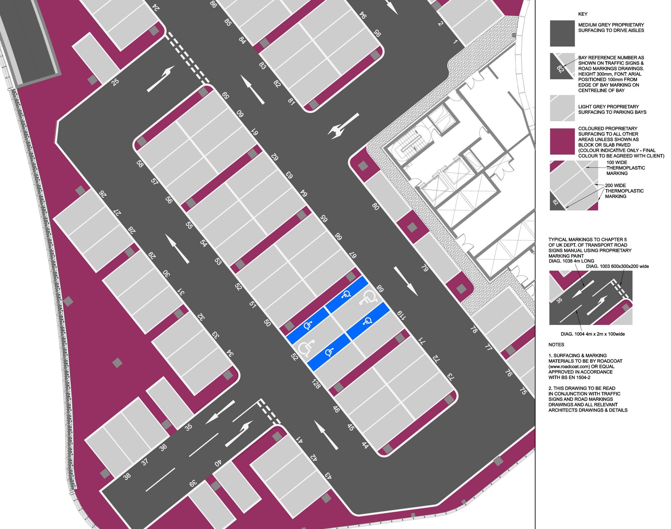 tameer parking plan